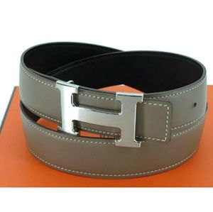 💯 AUTH HERMES COSTANCE REVERSIBLE H BELT